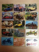 Calendarios de coches antiguos - foto