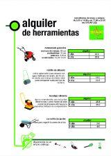 ALQUILER DE HERRAMIENTAS Y MAQUINARIA - foto