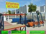 ESTANTERIAS METALICAS DE 2ª MANO - foto