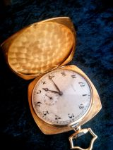 Reloj antiguo de bolsillo en Oro de 18 K - foto