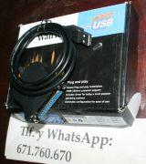 Cable convertidor USB a paralelo - foto