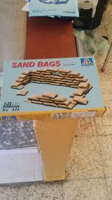 Italeri sacos de arena escala 1:35 - foto