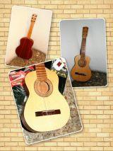 Guitarra Española de madera de niño - foto