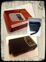 Radio portable color negra - foto