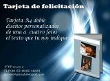 tarjeta felicitación - foto