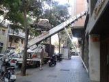 Elevadores de mudanza montamuebles  grua - foto