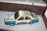 Antigua juguete coche police - foto