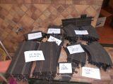 scalextric lote de pistas 66 contiene - foto