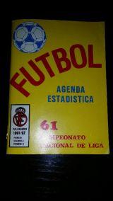 Calendario de fútbol  temporada 1991 - - foto
