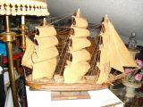 Maqueta de madera de Fragata española - foto