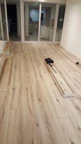 parquet, suelo laminado,parke de madera - foto