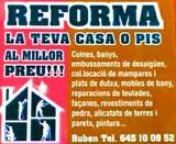 REFORMAS DE TODO TIPO A 15 EUROS LA HORA - foto