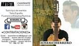 CANTANTE/ARTISTA JOSEMI HERRERO - foto