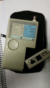 Tester de RJ45 / RJ11 / RJ12 / BNC / USB - foto