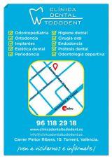 Oferta de ortodoncia dental - foto