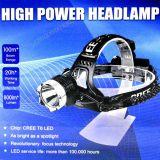 Linterna de cabeza 800lm 500m alcance - foto