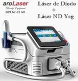 compra aquí tu láser diodo + nd-yag - foto