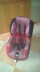 silla de transporte de coche bebe. - foto