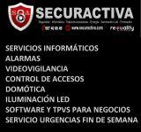 Ordenadores,alarmas, camaras vigilancia - foto