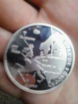 Moneda centenario Real madrid - foto