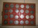 duros de plata 5  pesetas 1870 - alfonso - foto