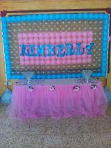 decoracion panel de globos - foto