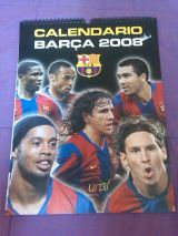 Calendario f.c . barcelona  2008 - foto