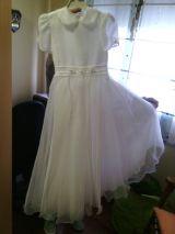 Vestido comunion niña ( talla 10 ) - foto