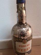Ponche terry botella alcohol puerto de s - foto