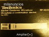 Technics microfonos Electrec profesional - foto