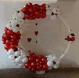 decoración globos comuniones - foto
