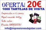 Publicidad empresas tarjetas visita - foto