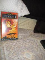 El Rey León2 (El tesoro de Simba) en VHS - foto