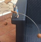 Antiguo Mono equilibrista - foto