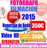 Fotografia y video economico  barcelona - foto
