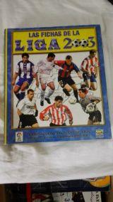 Album Liga 2003 Mundicromo Completo - foto