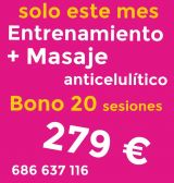 Oferta. Bono 20 sesiones. - foto
