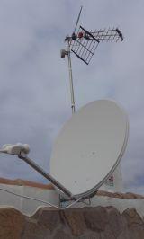 profesional de antenas y pararabolicas - foto