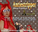 antistriper, show comico - foto