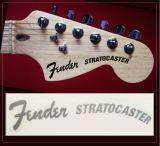 Fender Stratocaster Vintaje PLATA Decal - foto