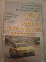 Subida Montoro 2001 - foto