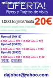 Oferta flyers publicitarios - foto