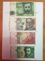 Billetes con defecto - foto
