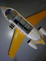 Avion jet amarillo playmobil RF3185 - foto