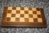 CAJA JUEGO Ajedrez y Backgammon - foto