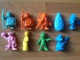 Lote de figuritas phoskitos aÑos 80 - foto
