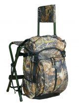 Silla-mochila con respaldo  relax caza - foto