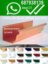 // canalon aluminio murcia ELCHE//// - foto