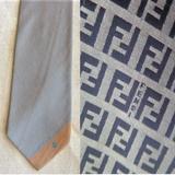 Corbata de seda FENDI - foto