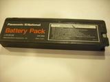 Video portatil national vhs / baterias - foto